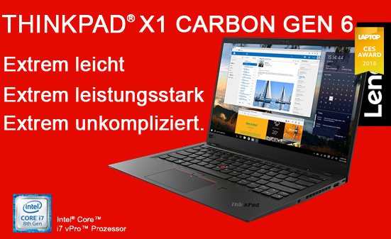 ThinkPad X1 Carbon Gen6
