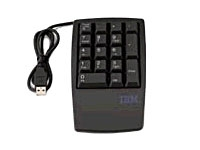 Lenovo USB 17-Key Business Black Numeric Keypad #33L3225