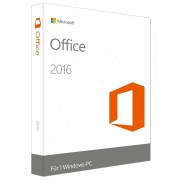 MS Office 2016 Home and Business 32-bit/x64 Medialess (NO)